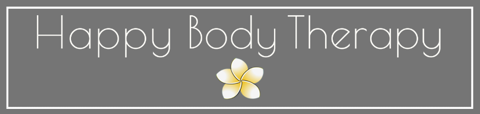 A letter from Jan at Happy Body Therapy
